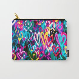 HEARTS STREET Carry-All Pouch