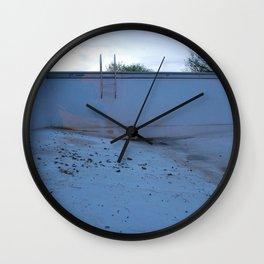 Night Swim  Wall Clock