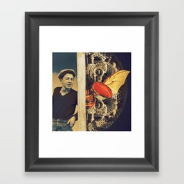 Serp Framed Art Print