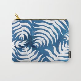 Caribean Blue Palms Carry-All Pouch
