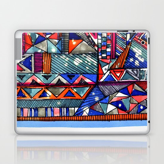 Tribal Texture Laptop & iPad Skin