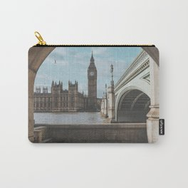 London, United Kingdom Carry-All Pouch