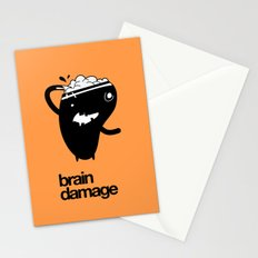 Brain Damage Stationery Cards