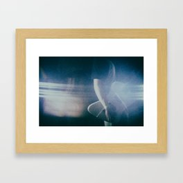 Delete Insert Framed Art Print