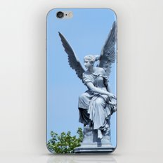 Angel and blue skies iPhone & iPod Skin
