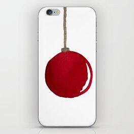 Red Ornament iPhone Skin