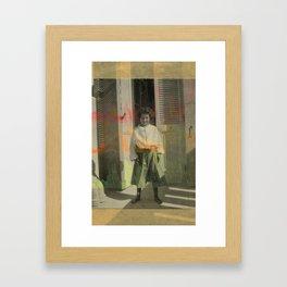 Cardiac Kid Framed Art Print