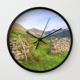 Ben Nevis Mountain Range Wall Clock