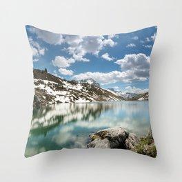 Winter's Retreat Throw Pillow