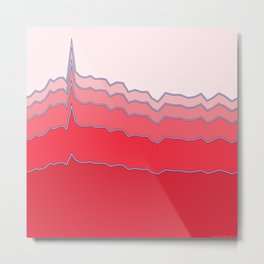 Pinkergraph 06 Metal Print