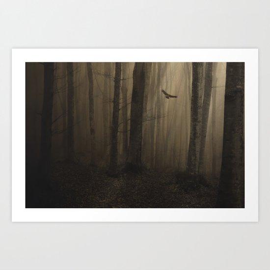 Return to the light Art Print