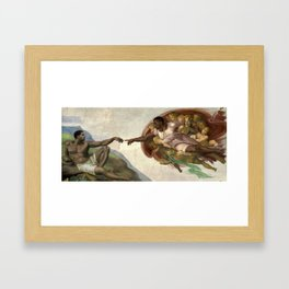 The Creation of the 6 Framed Art Print