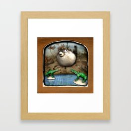 The Deserted Toyshop: Bottom of the Pool Framed Art Print