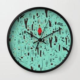 Caperucita Coya Wall Clock