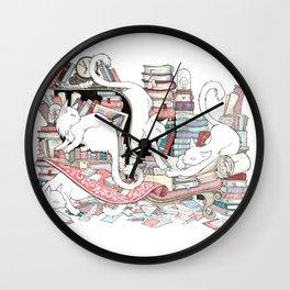 Acqua Alta bookstore, Venice Wall Clock