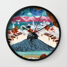 Guardian of the ghost world Wall Clock