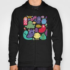 Colorful creatures Hoody
