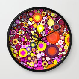 Scatter Sunshine Wall Clock