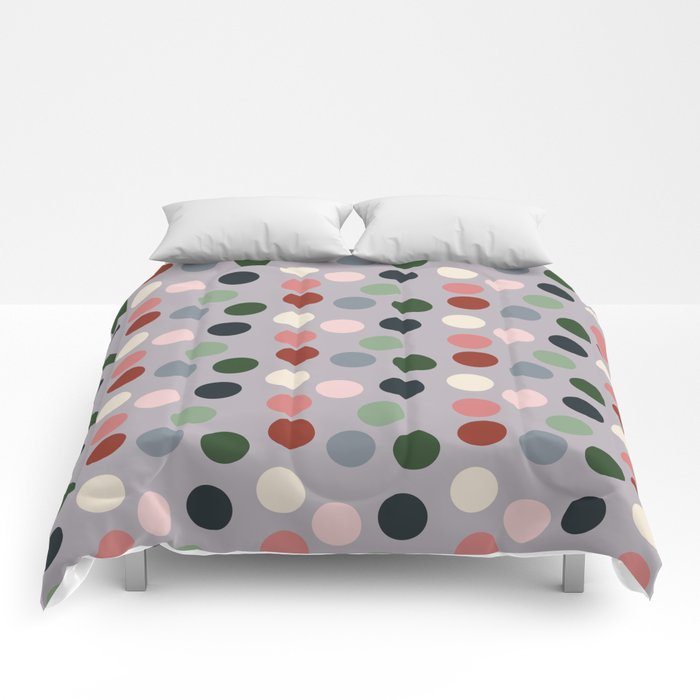Tropical polka dots #homedecor Comforters