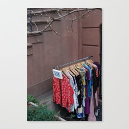 Outdoor Sale Canvas Print