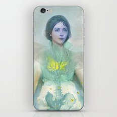 The green firefly iPhone Skin