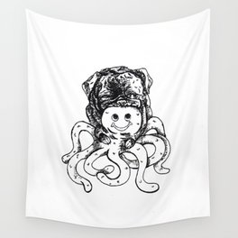 Kyle James The Octopus Serial Killer Wall Tapestry