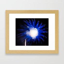 Geometric Firework 7 Framed Art Print