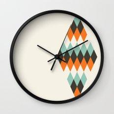 Diamond of Diamonds Wall Clock