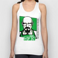 cook Tank Tops featuring The Cook by Ferguccio