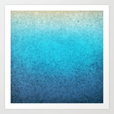 Sea Glass Art Print