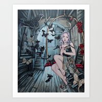 The Gilded Cage Art Print