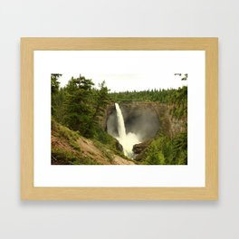 Helmcken Falls Framed Art Print