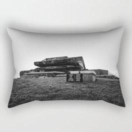 Historic German bunker  of World War II Rectangular Pillow