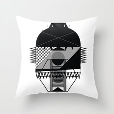 Make Things Slithy Different_the Mask Throw Pillow