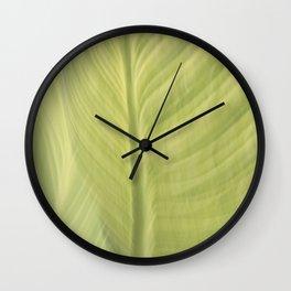 blurred perception of nature #5 Wall Clock