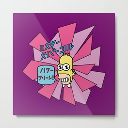 Mr. Sparkle Metal Print