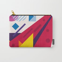 Abstract modern geometric background. Composition 18 Carry-All Pouch