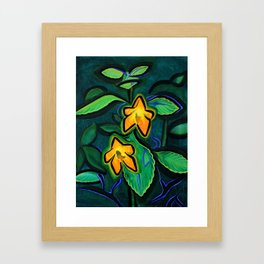 Orange Jewelweed 2.0 Framed Art Print