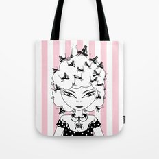 Lady CriCri Tote Bag