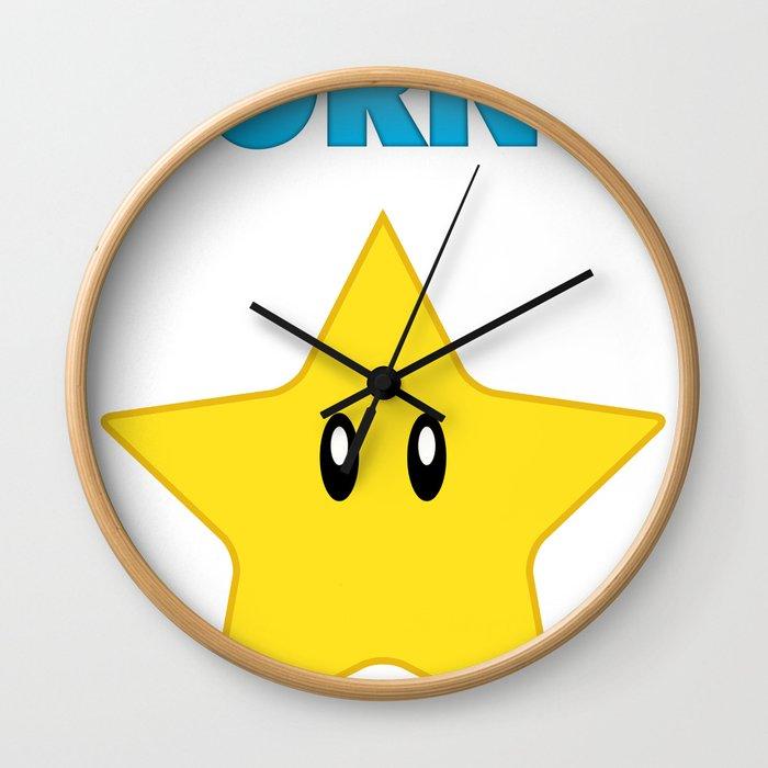 Porno Star Wall Clock