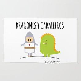 Dragones y Caballeros Rug