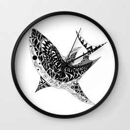 Mr Shark ecopop Wall Clock