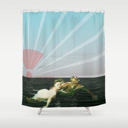 atmosphere 33 · Fukushima mon amour Shower Curtain