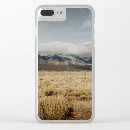 Great Sand Dunes National Park - Mountains Clear iPhone Case