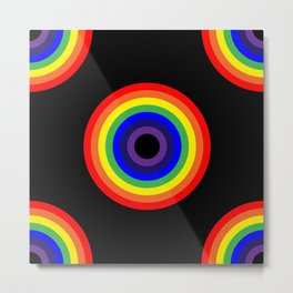 Neverending - Rainbow Metal Print