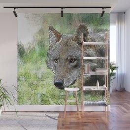 Wolf20151201 Wall Mural