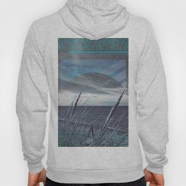 Before the Storm - blue graphic Hoody