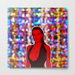 Lana Rhoades - Celebrity (3D Photographic Art) Metal Print