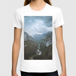 Yosemite Storm Clouds T-shirt