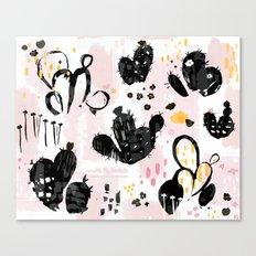 cactus sketchbook Canvas Print